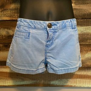 EXPRESS Blue Faded Shorts